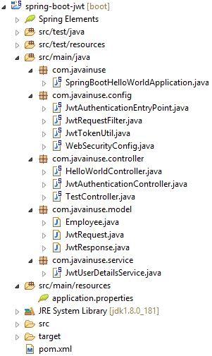 Spring Boot JWT Angular Maven