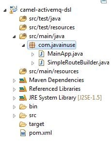Apache Camel Active MQ Integration | JavaInUse