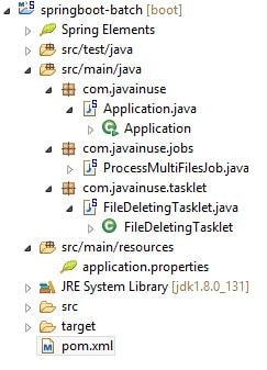 Spring Boot Batch Job + Scheduler Simple Example | JavaInUse