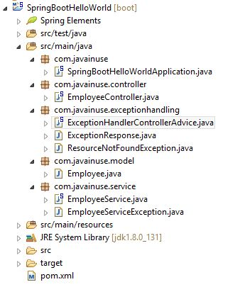 Spring Boot Exception Handling Using ControllerAdvice