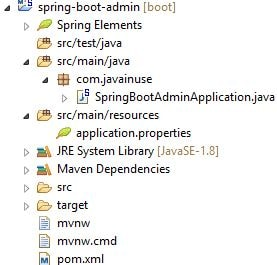 Spring Boot Admin Server and Client Hello World Example | JavaInUse