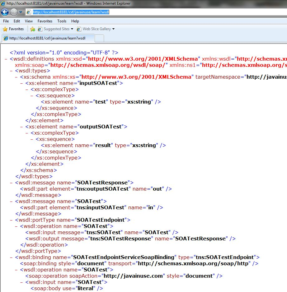 Wsdl File Example
