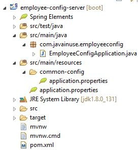 Externalize Properties Using Spring Cloud Eclipse