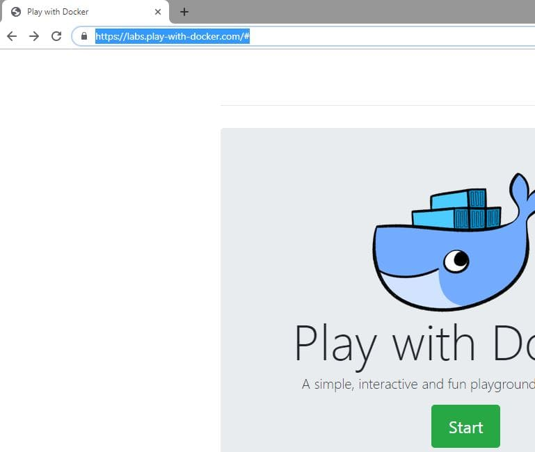 Play with docker tutorial