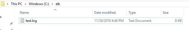 File Beat + ELK(Elastic, Logstash and Kibana) Stack to index logs to