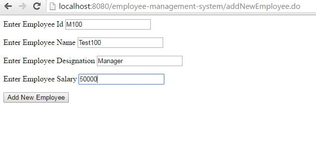 Spring MVC Form Handling-and concept of Backing bean in Spring MVC