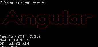 angular cli 7 version