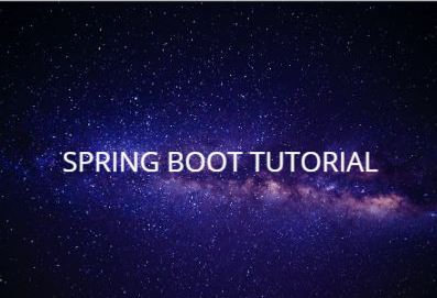 Spring Boot Tutorial